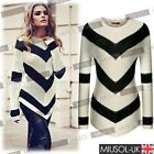 Ladies Knitted Womens Winter Smart Jumper Pullover Tops Sweatshirt Cardigan 8-16