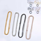 Silver/Golden/Bronze Metal Ball Round Chain For Necklace DIY