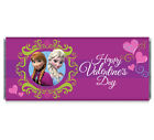 Disney's Frozen Anna and Elsa Valentine's Day Personalized Candy Bar Wrappers