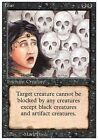 4x Paura - Fear MTG MAGIC Rev Revised Eng/Ita