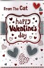 Happy Valentine's Day Small Card - From The Cat or From The Dog BGC38565