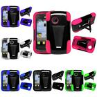 For LG 306G 305C Dual Layer Hybrid Armor TSTAND Cover Case