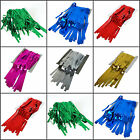 Tinsel Curtain 3ft x 9ft Metallic Party Backdrop Door Curtain Various Colours