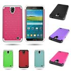 Bling Diamond Case Phone Cover Hybrid Protective Armor for Samsung Galaxy Mega 2