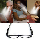 Multi Strength Night Vision Glasses 360°Presbyopia Diopter Eyeglass LED Light UP
