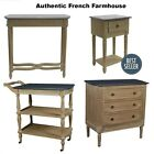 Flaubert Console/Bedside/Chest/Server Tabl French Provincial Farmhouse Furniture