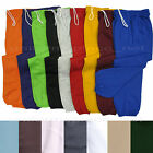 Unisex Mens Womens Sweatpants Fleece Workout Gym Pants Elastic Waist S to 5XL