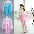 2015 Baby Girls Kids Princess Party Wedding Lace Fancy Gown Dress Tutu 2-7Y UK