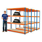 3 Bays Of Racking Boltless Garage Storage Mega Deal Stockroom BiGDUG 3 Colours