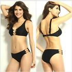 Women Lady Chain Bikini Set Push-up Padded Bra Swimsuit Bathing Suit Swimwear