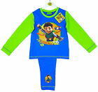 Boy's Tree Fu Tom Super Powers Toddler Cotton Pyjamas 18 Months-5 Years NEW