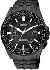 Citizen Eco-Drive Air Radio Controlled Black IP Men's Pilots Watch CB0028-58E
