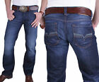 Mens Jeans Diesel Denim Pants Larkee Regular Straight 0073N 73N
