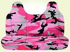 ICC Ford f 150-250-350 camouflage bench seat cover  / molded headrest 24 colors