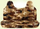 AFCC Ford f 150-250-350 camouflage bench seat cover  / molded headrest 24 colors
