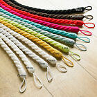 Rope tie Backs Hand twisted 100% Cotton 20mm Thick 70mm Long Ideal for Curtains