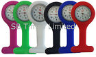 Brand New Colorful Silicone/Rubber Nurses Pocket Fob Watches