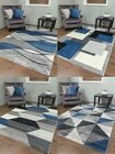 Bright Rainbow Colours Kids Soft Thick Carved Childrens Playroom Rug Boys Girls