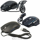 Adjustable DPI USB Wired Optical LED Gaming Mouse Mice For PC Computer Laptop