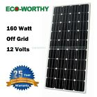 ECO 100W 150W 200W Mono/Poly Solar Panel for 12V RV Boat Camping Home Off Grid