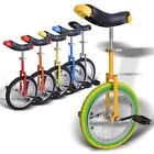 "16"" Wheel Unicycle w/ Free Stand 1.75"" Skidproof Butyl Tire Cycling Bike Cycle"