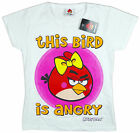 Girls Official Angry Birds This Bird Is Angry Cotton T-Shirt Top 11-12 Years