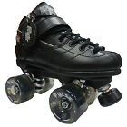 New! Rock GT50 Pulse Roller Derby Speed Skates - Atom Pulse Outdoor Wheels