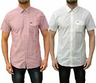 Mens Designer Duck & Cover Short Sleeve Shirt Smart Casual Cotton Top Jasper