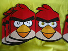 ANGRY BIRDS - MASKS - Various amounts  -  CHILDREN'S BIRTHDAY PARTY  -  FREEPOST