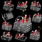 Clear Acrylic Makeup Cometic Organizer Jewellery Display drawers Storage Case