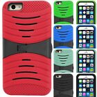 For Apple iPhone 6 Plus - Heavy Duty Hybrid Kickstand Durable Phone Cover Case