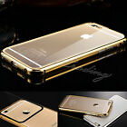 Luxury Aluminum Metal Hard Case Cover for iPhone 6 5 5S Free Screen Protector