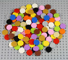 LEGO - 2x2 Round Tiles - PICK YOUR COLORS - Smooth Finishing Plate Flat Dots Lot