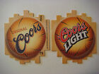 2001 Cool Beer Coaster  Original COORS Brewery Golden COLORADO Basketball