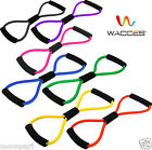 8-Shape Tube Resistance Band Fitness Muscle Workout Exercise Yoga Elastic Cord