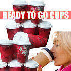 Disposable Paper COFFEE/TEA CUPS & SIP LIDS(8oz,10oz,12oz,16oz)Catering-Takeaway