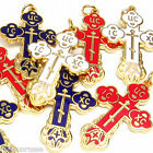 10 pack - Russian Orthodox Cross - Bright  Enamels *High Quality*