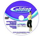 Gliding discs DVD Integrated Muscle Conditioning  ( no gliding disc's) new