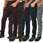 Mens Designer Arrested Develoment Jeans Skinny Tapered Stretch Fit Chinos Pants