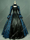 Gothic Victorian Georgian Period Dress Reenactment Clothing Gown Steampunk 119