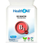 Health4All Vitamin B3 Niacin (Flush) Nicotinic Acid 500mg Capsules | Cholesterol £8.49 GBP on eBay