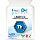 Health4All L-Theanine 250mg Capsules - STRESS, FOCUS, RELAXATION, LEARNING £8.99 GBP on eBay