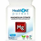 Health4All Magnesium Citrate 30% 250mg Vcaps | HIGH ELEMENTAL MAGNESIUM £8.99 GBP on eBay