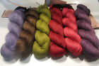 REDUCED Aslan Trends 70% King Baby Llama & 30% Mulberry Silk Yarn - 12 colors