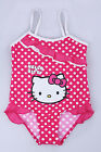 BNWT Hell0 Kitty Baby Girls Red Polka Dot Bathing Swim Suit/Swimsuit~Size2 4 6 8