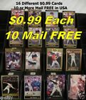CAL RIPKEN _ 16 Different $0.99 Cards _ Choose 1 or More _ BUY 10, Mail FREE