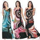 NEW LADIES  SLEEVELESS WOMENS MAXI DRESS ON CLEARANCE