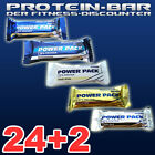 (23,62€/kg) MULTIPOWER Protein Eiweiß Riegel Power Pack 24 + 2 Riegel à 35g