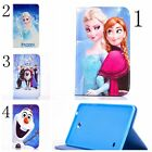 New Frozen Elsa Anna olaf PU leather Flip cover case for Samsung Galaxy tab