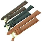 Genuine Suede Leather Watch Strap Band with Stainless Steel Buckle - Men's/Boy's